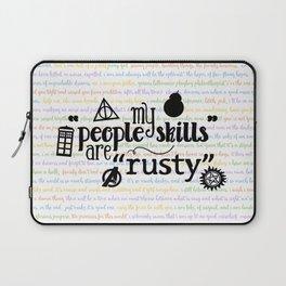 "My ""People Skills"" are ""Rusty"" Laptop Sleeve"