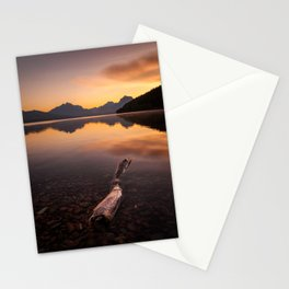 Lake McDonald – Glacier National Park, Montana, USA Stationery Cards