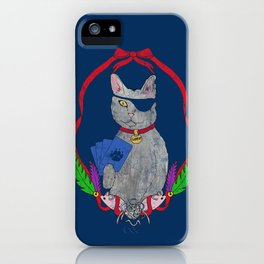 Pawsitively Badass iPhone Case