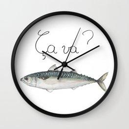 Ça va ? Wall Clock