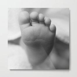 Baby Toes Metal Print