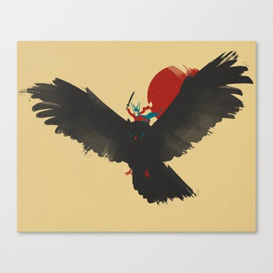 Red Rider Canvas Print