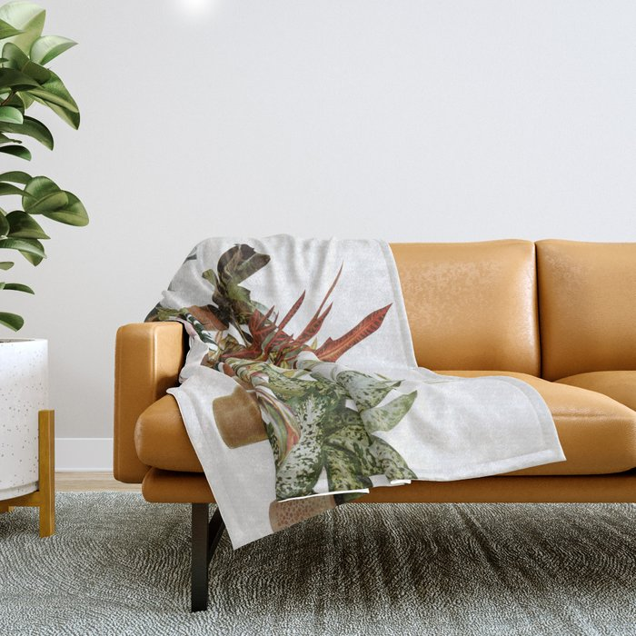 It's a Jungle Out There Throw Blanket