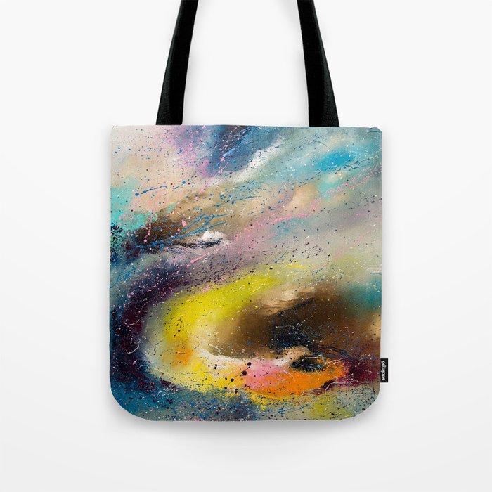 Flying snake Tote Bag