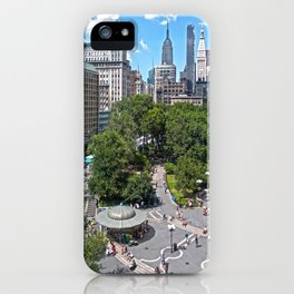 Union Square, NYC iPhone Case