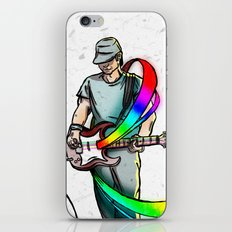 Guitarist (Colour My World) iPhone & iPod Skin