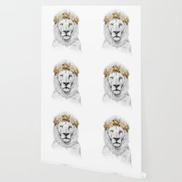 Festival lion (color version) Wallpaper