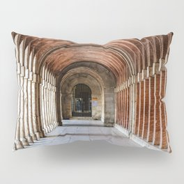 Arcade in Royal Palace of Aranjuez in Madrid Pillow Sham