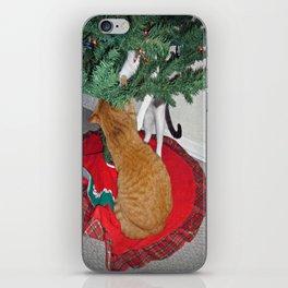 12 cats a-climbing iPhone Skin