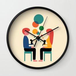 Soul Communication Wall Clock