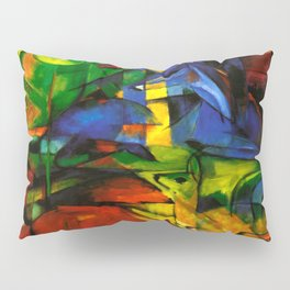 Deers in Wood by Franz Marc Pillow Sham