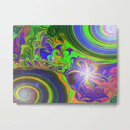 Outflow Metal Print