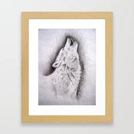 Moon Watch Framed Art Print