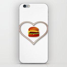 Love Burgers iPhone Skin