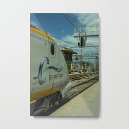 Eurostar at Marseille Metal Print