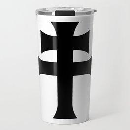 Cross of Lorraine Croix de Lorraine Travel Mug