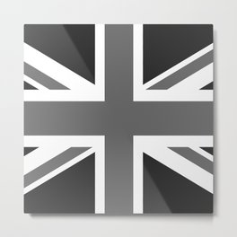 Union Jack Authentic scale 3:5 Version  (High Quality) Metal Print