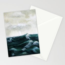 Storm Sea Stationery Cards