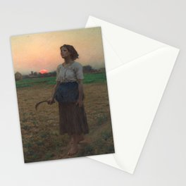 The Song of the Lark, Jules Adolphe Breton, 1884 Stationery Cards