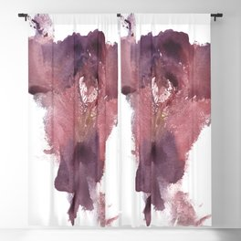 Verronica's Vulva Print No.3 Blackout Curtain