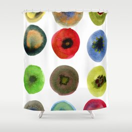 Consider the Circle 01 Shower Curtain