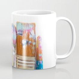 Five Paintbrushes Minimalist Photography Coffee Mug