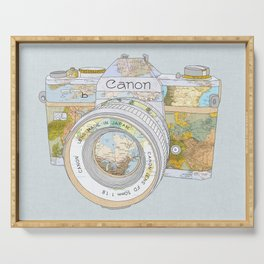 TRAVEL CAN0N Serving Tray