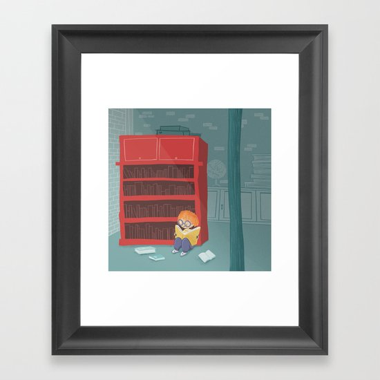 Feed Your Imagination Framed Art Print