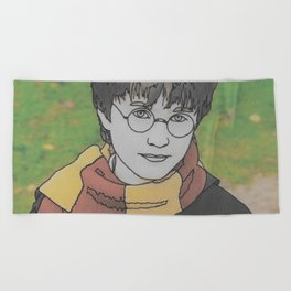 The Boy Who Lived Beach Towel
