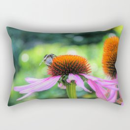 Nature's Worker Rectangular Pillow