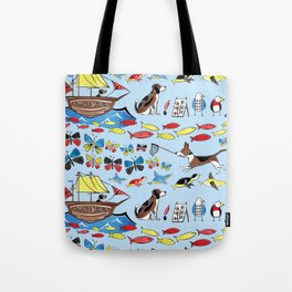 The Voyage of the Beagle Tote Bag