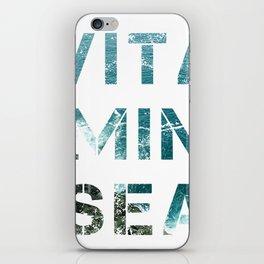 Vitamin sea iPhone Skin