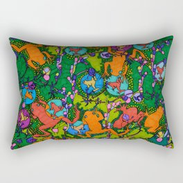 Frogs Rectangular Pillow