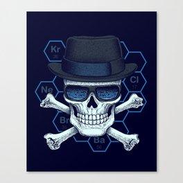 Chemical head Canvas Print
