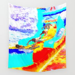 Bouncy Sky Dive Wall Tapestry