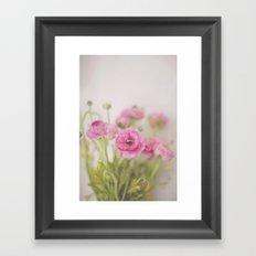 . Spring Indoors . Framed Art Print