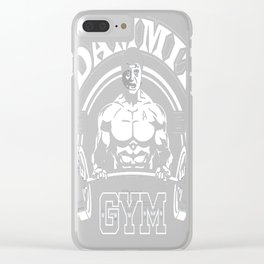 Dammit Gym Clear iPhone Case