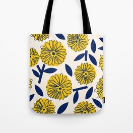 Floral_blossom Tote Bag