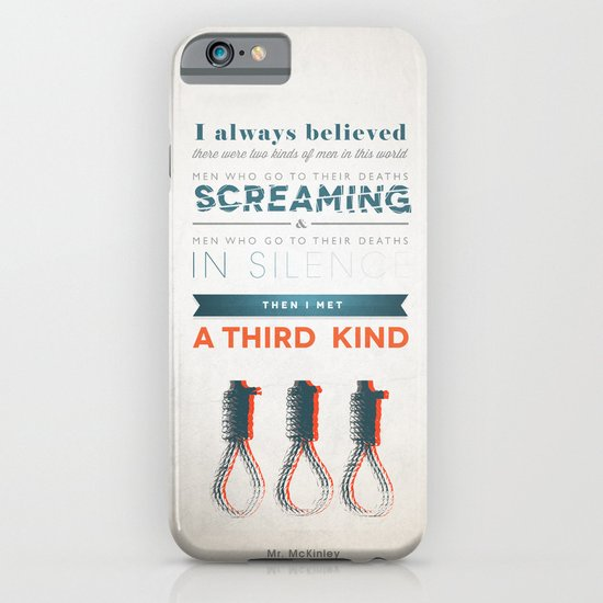 The Third Kind iPhone & iPod Case