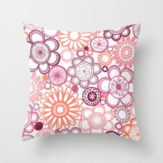 BOLD & BEAUTIFUL girlie Throw Pillow