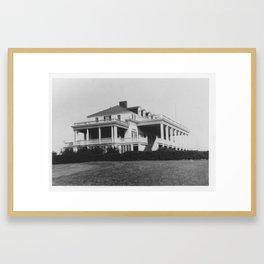 Country Club Framed Art Print