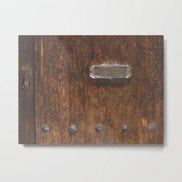 Mailbox No. 2 in San Miguel de Allende, Mexico (2005) Metal Print