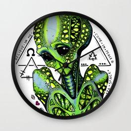 Outsider Wall Clock