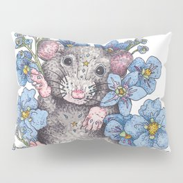 Bed of Flowers Pillow Sham