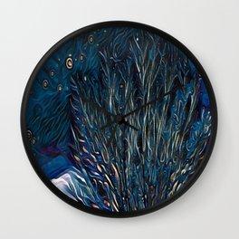 Winter Night Wall Clock