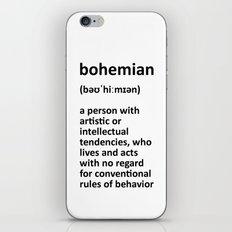 bohemian iPhone & iPod Skin