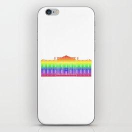White House . Rainbow iPhone Skin