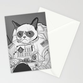 The Grumpiest Astronaut Stationery Cards