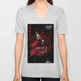 Ruby Rose Unisex V-Neck