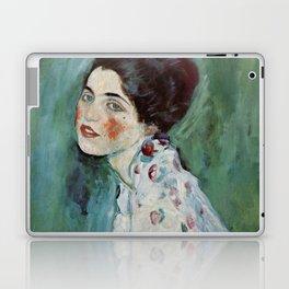 "Gustav Klimt ""Portrait of a lady"" Laptop & iPad Skin"